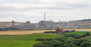 Boulby Potash Mine, North Yorkshire Stock Photography