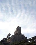 Boulder на горе Стоковое Изображение RF