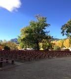 Boulder Colorado Central Park,Amphitheater Stock Photography