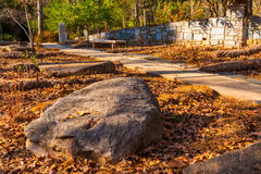 Free Boulder And Footpath In Stone Mountain Park, USA Royalty Free Stock Photography - 93155787