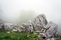 Boulder and big rocks Stock Photography