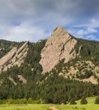 Boulder Colorado Flatirons Foto de Stock