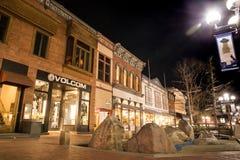 Boulder Colorado Pearl Street Mall stock photos