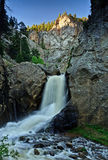 Boulder Falls. A view of Boulder Falls, located on Boulder Creek in Boulder Canyon in the Rocky Mountain foothills just outside Boulder, Colorado Stock Photo