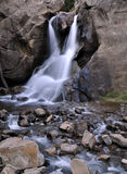 Boulder Falls in Boulder, Colorado Royalty Free Stock Images