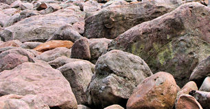 Boulder Field. Large rocks at Boulder field Hickory Run State Park Stock Image