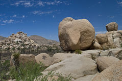 Boulder, Joshua Tree National Park Royalty Free Stock Photos