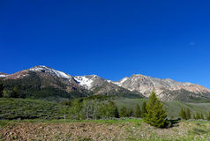 Boulder Mountains - Idaho Royalty Free Stock Images