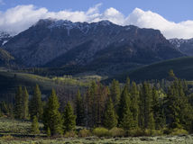 Boulder Mountains. North of Ketchum, Idaho Stock Image