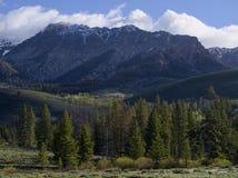 Boulder Mountains Stock Image