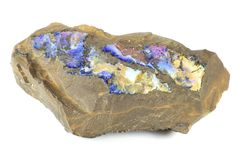 Boulder opal Royalty Free Stock Photography
