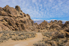 Boulder Pile Hills in California Royalty Free Stock Images