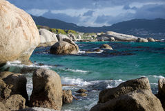 Boulder's Beach Cape Town Royalty Free Stock Image