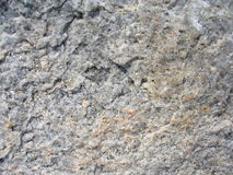 Boulder surface. Area of a giant rock stock photography