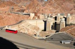 Boulder-Verdammung im Colorado, auf der Grenze zwischen den US-Staaten von Arizona und Nevada Stockbilder