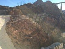 Boulder-Verdammung im Colorado, auf der Grenze zwischen den US-Staaten von Arizona und Nevada lizenzfreie stockfotografie