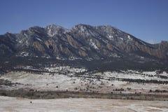 Boulder-Vorberge Stockfoto