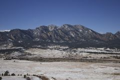 Boulder-Vorberge Lizenzfreie Stockfotos