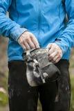 Bouldering stockbild