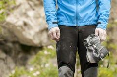 Bouldering Στοκ εικόνες με δικαίωμα ελεύθερης χρήσης