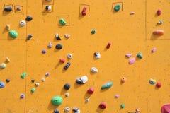 bouldering ściana Zdjęcie Royalty Free