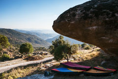 Bouldering en Turquie Photo stock