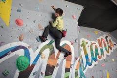 Bouldering festival Dnepr Montana Kids Stock Photography