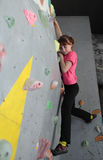 Bouldering festival Dnepr Montana Kids Royalty Free Stock Photography