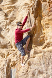 Bouldering outdoor Royalty Free Stock Images