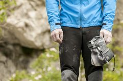 Bouldering Royalty Free Stock Images