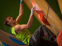 Bouldering Royalty Free Stock Image