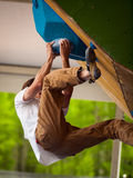 Bouldering Royalty Free Stock Photos