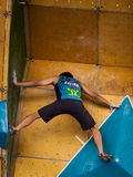 Bouldering Royalty Free Stock Photo