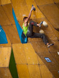 Bouldering Royalty Free Stock Photography