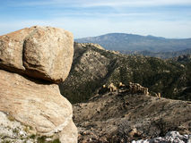 Boulders. On Mt. Lemmon, Tucson, AZ royalty free stock photo