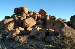 Boulders stock image