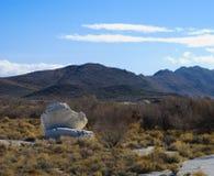 Boulders At Longstreet Spring, Ash Meadows, Nevada Royalty Free Stock Photo