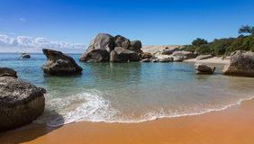 Boulders Beach in Cape Town Royalty Free Stock Image