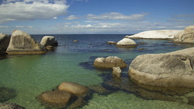 Boulders Beach ocean view. Boulders Beach Indian ocean view Stock Photos