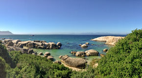 Boulders beach, South Africa Royalty Free Stock Image