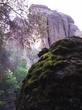 Boulders in the Canyon royalty free stock images