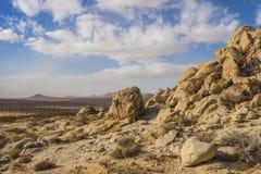 Free Boulders Form Hillside In Mojave Desert Stock Photography - 110809982