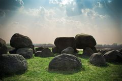 Boulders Foundlings Stones Royalty Free Stock Photography
