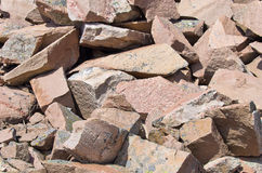 Boulders Of Granite Royalty Free Stock Image