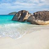 Boulders and ocean Stock Photos