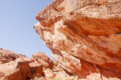 Boulders of Red Rock Royalty Free Stock Images