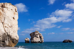 The boulders in a sea Stock Photography