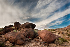 Boulders and Sky Stock Photos