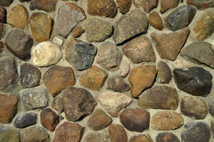 Boulders wall background Royalty Free Stock Images
