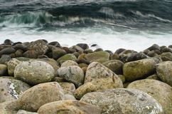 Boulders and water Stock Photography
